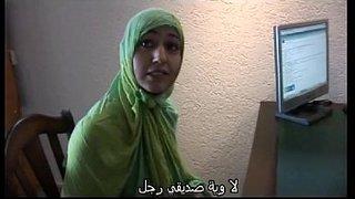 موظفة عربية مغربية محجبة تمارس السحاق مع موظفة هولاندية هواة ...