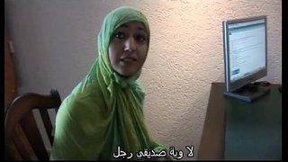 جميلة المغربية شرموطة محجبة تمارس سكس السحاق مع بنت هولنددية مترجم ...